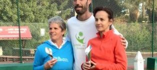 Isabel Pinto - Venceu Torneio de Veteranos +45 nível B - 6 e 7 Fevereiro