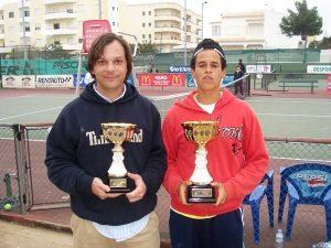 Pedro Valente e Luca Barbosa