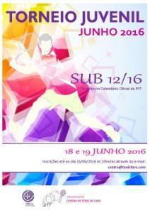 Torneio Juvenil Junho sub12 e sub16