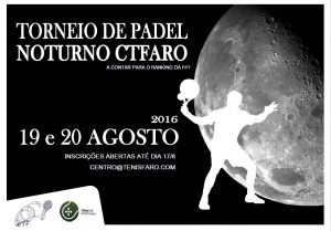 Torneio Padel Noturno 2016