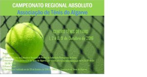 Campeonato Regional Absoluto Ténis 2016