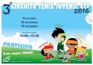 3º Circuito Ténis Juvenil CTF