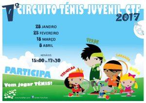 1º Circuito de Ténis Juvenil CTF